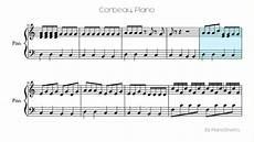 corbeau piano solo youtube