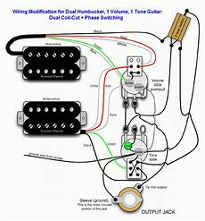 guitar wiring phase out of phase issue in humbucker mode my les paul forum