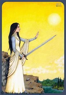 As Der Schwerter - k tarotkarten