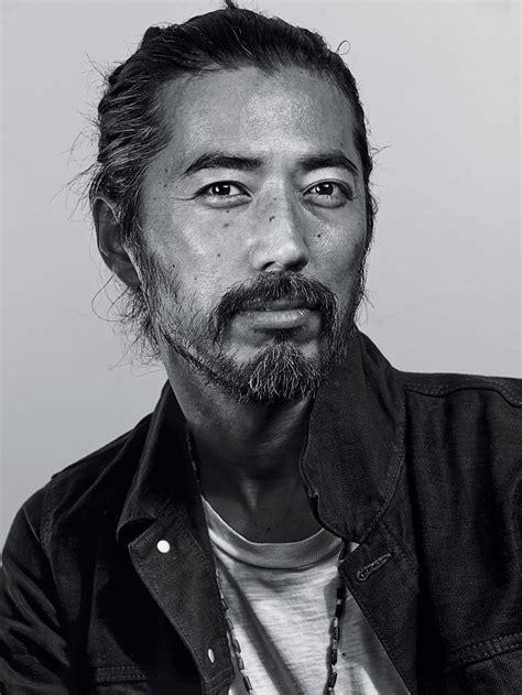 Japanese Man With Beard