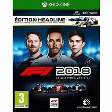 F1 2018 Xbox One Pas Cher Au Meilleur Prix Chocobonplan