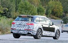 brawny 2020 audi sq7 comes out of hiding as well carscoops