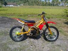 Modifikasi F1zr by Modifikasi Motor Yamaha F1zr Jadi Trail