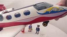 playmobil airplane summer