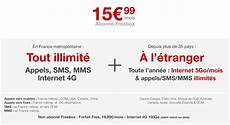 Prix Abonnement Free Free Mobile Lance Le Premier Forfait 4g Illimit 233 E Pour Les