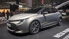2018 Toyota Auris Hybrid Geneva 2018 Photo Gallery Autoblog