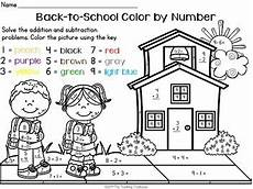 color by number worksheets high school 16166 back to school color by number addition subtraction within 10