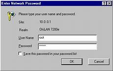 username password combo list oki what user name and password combination do i use when applying configuration changes using