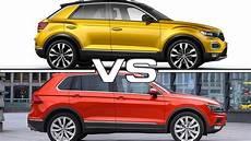 2018 Volkswagen T Roc Vs 2017 Volkswagen Tiguan