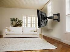 Smart Tv Halterung - peerless sa746pu schwenkbare tv wandhalterung 32 50zoll