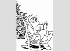 Kerst site   kerstmis kleurplaat printen