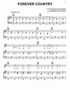 forever country sheet music artists of then now forever piano vocal guitar right
