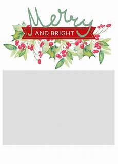 free christmas card templates the craft