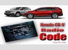 Honda CRV Stereo Code   Honda Radio Code   Honda crv