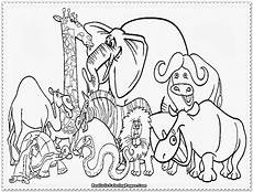 zoo animals coloring pages high resolution