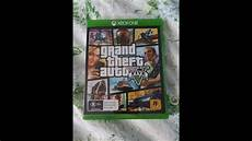 grand theft auto 5 xbox one unboxing