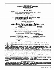 aig annual reports and proxy statements2006 form 10 k