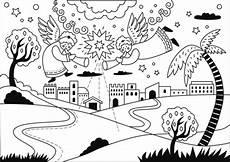 Malvorlagen Bethlehem Bethlehem Clip Coloring Page Clipart Collection