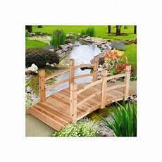 pont pont de jardin bois passerelle arrondi housse meuble