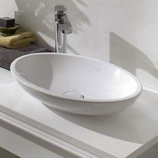 loop friends oval counter top basin by villeroy boch
