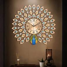 Home Large Metal Peacock Luxury by 21 Inch Large Oversize 3d Metal Luxury Diamonds