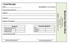 receipt of payment template word printable receipt template