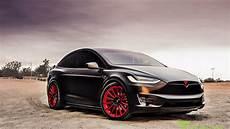 Tesla Model X Dances To Merry Song 2017