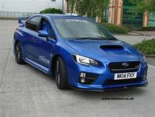SUBARU STi WRX MY 2015 Front Lip Spoiler / Splitter For