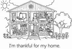 lesson 31 i am thankful for my home coloring pages for