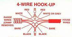 White And Black Two Wire Wiring Diagram Insulated by Wiring A Kitchen Oven