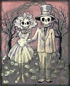 Day Of The Dead Wedding Gifts day of the dead wedding gift mexican folk print and
