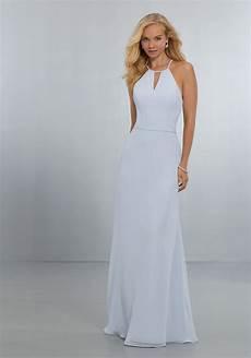 chiffon bridesmaids dress with keyhole neckline style 21563 morilee