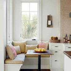 Beadboard Kitchen Banquette by Built In Banquette With Beadboard Backsplash