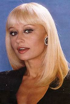 carré blond raffaella carr 224 1984 rafaella carra celebridades y actrices