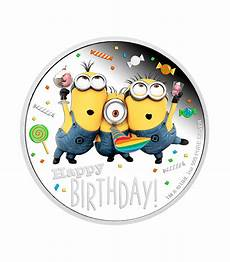 minion bett niue 2 dollars 2019 minion happy birthday 1 oz silver