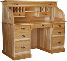 wood home office furniture amish rolltop desk home office furniture solid wood new ebay