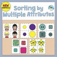 sorting objects by attributes worksheets 7746 sorting by attributes by chikabee teachers pay teachers