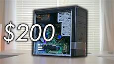 a 200 gaming pc almost anyone can build fortnite