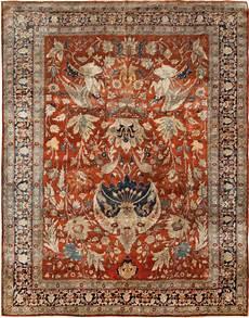 silk rugs antique tabriz silk rug bb6781 by doris leslie blau