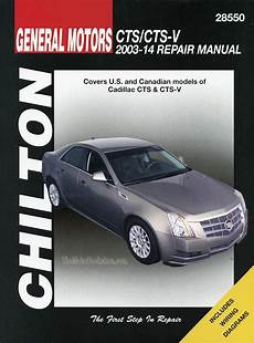 free car repair manuals 2003 cadillac cts auto manual cadillac cts cts v repair manual 2003 2014 chilton 28550