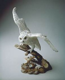 beautiful bird owl figurines limited edition boehm snowy owl porcelain sculpture owl