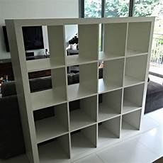 ikea kallax 4x4 ikea kallax shelving unit 4x4 white furniture on carousell
