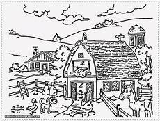 Malvorlagen Auto Farmer Farm Bauernhof Ausmalbild Bild