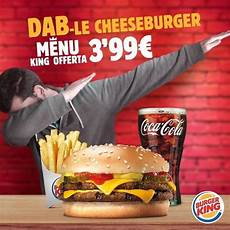 Burger King Werbung - burger king killing the dab with one ad fellowkids