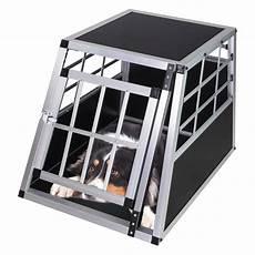 pkw auto alu hundebox hundetransportbox waldi 1