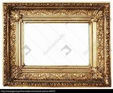 goldener bilderrahmen goldener bilderrahmen querformat lizenzfreies foto