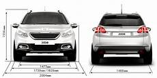 Peugeot 2008 Crossover Technical Data And Specifications