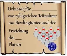 urkunde bowling vorlage kostenlose bowlingurkunde
