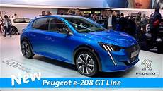 New Peugeot E 208 Gt Line 2019 Look Geneva Auto