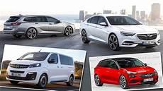 opel alle neuen autos bis 2020